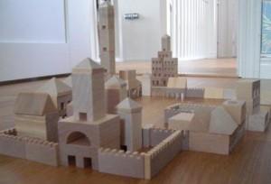 Träklossar stad & slott