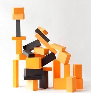 Bau-bau-blocks, klossar för barn