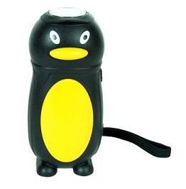 Ficklampa för barn i form av pingvin