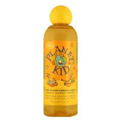 Barnolja med aprikosextrakt