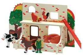 Bondgård, en fair trade leksak från Ekokul