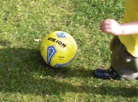 Fair trade märkt fotboll