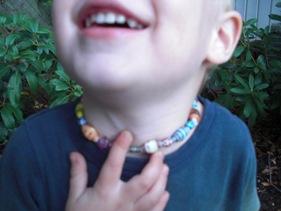 Pärlor i halsband