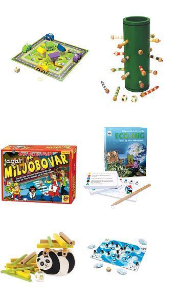 Bra spel för barn hos Ekokul