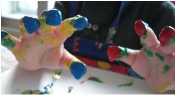 Ekologisk fingerfärg