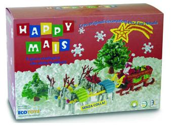 Julpyssel med Happy Mais, ett ekologiskt pyssel