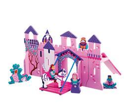 Slott, en träleksak som är fair trade