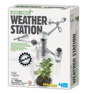Väderstation, ett experimentkit för barn