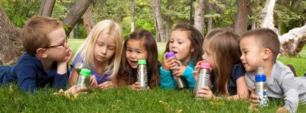Nappflaskor och flaskor för barn