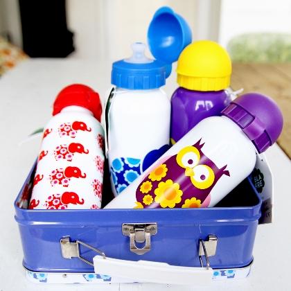 Blafre vattenflaskor för barn