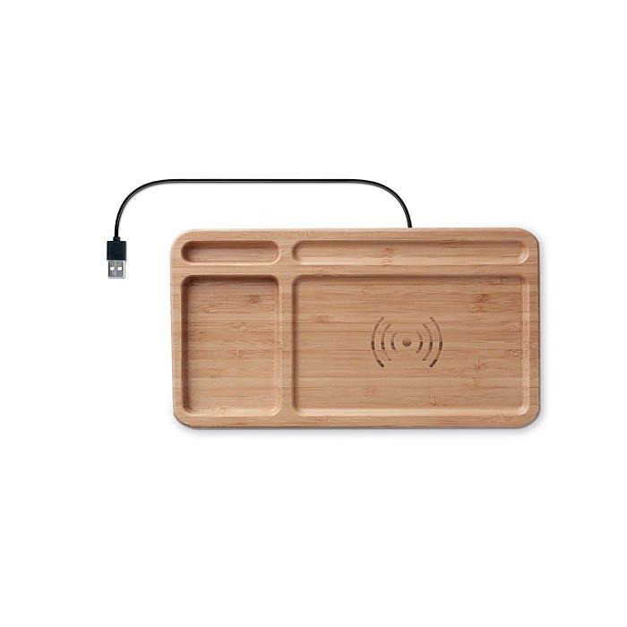 trådlös mobiladdare för skrivbordet