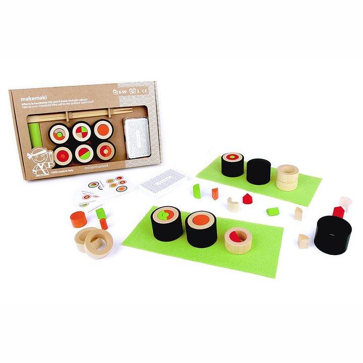 Barnspel om sushi