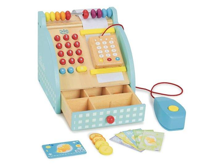 Kassaapparat leksak med räkneram