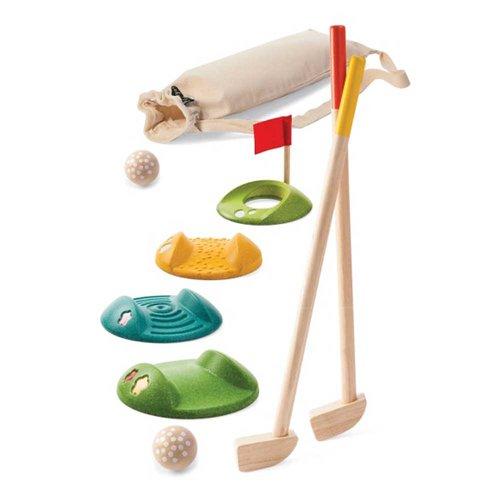 Minigolf träleksaker