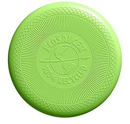 Grön frisbee