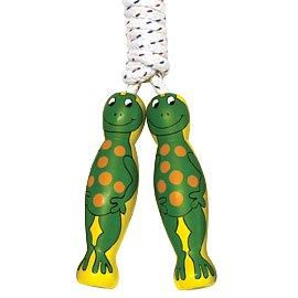 Hopprep för barn med grodor på handtag