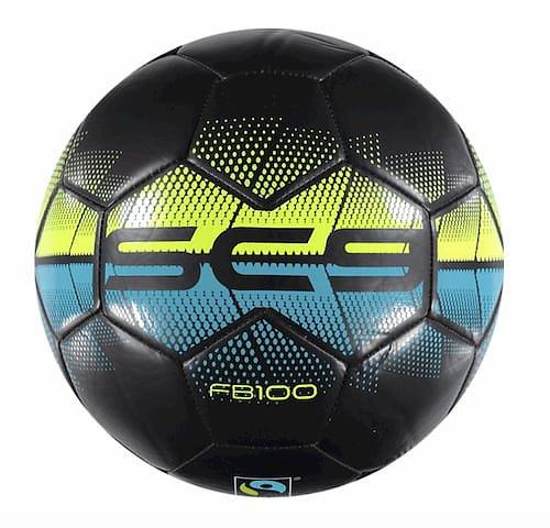Svart fair trade fotboll