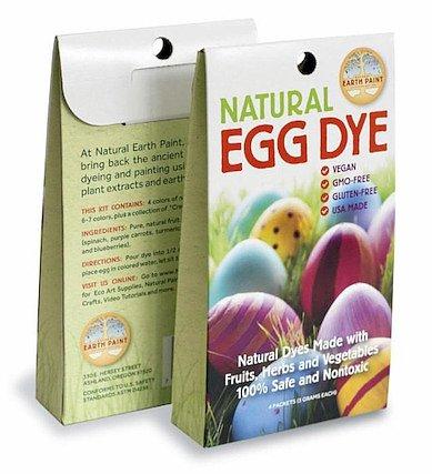 Naturliga äggfärger