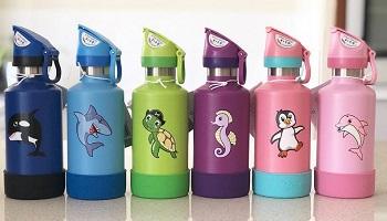 Nya vattenflaskor för barn