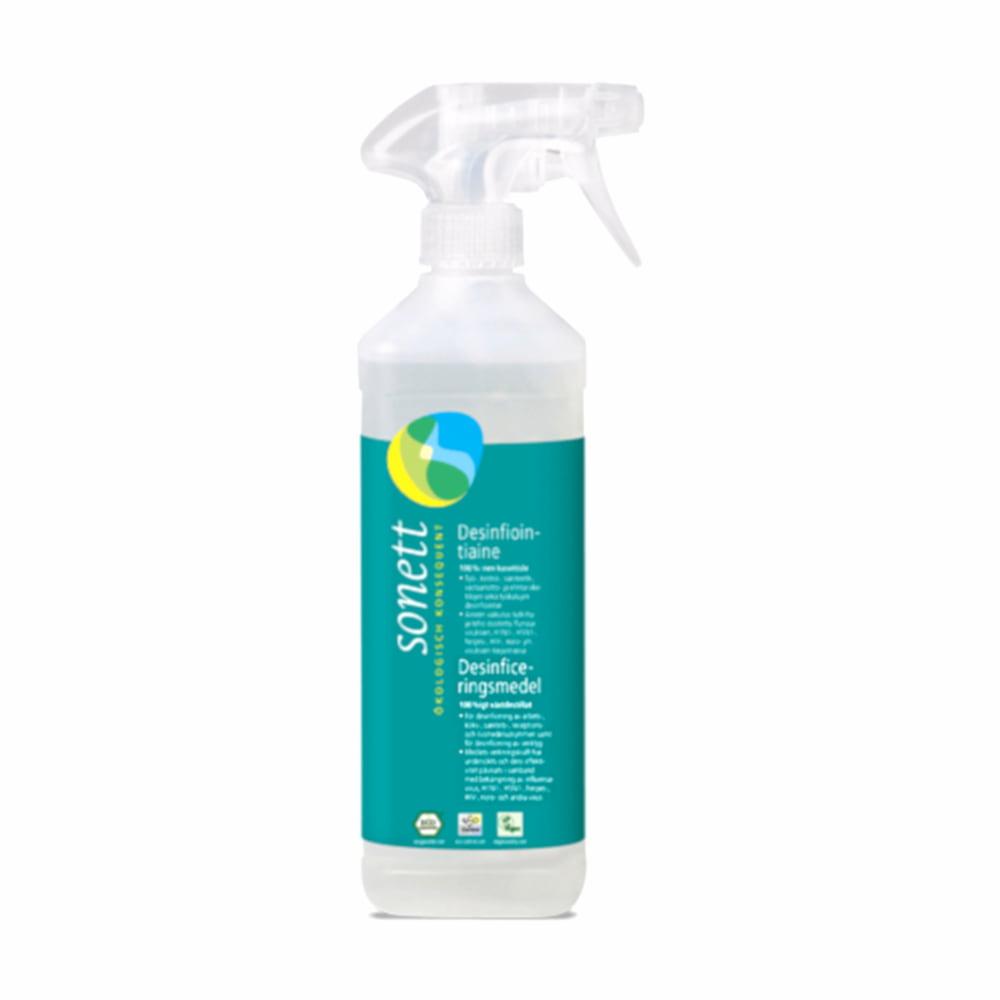 Ytedesinfektionsmedel i sprayflaska