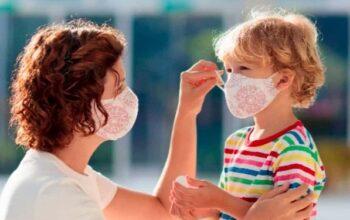 Ekologiska munskydd av tyg